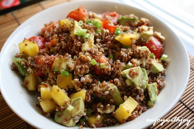 how to cook red quinoa for salad