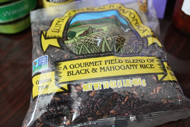 Black japonica rice nutrition facts