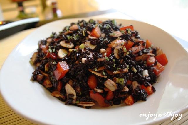 Thai Forbidden Rice Salad | enJOY with JOY