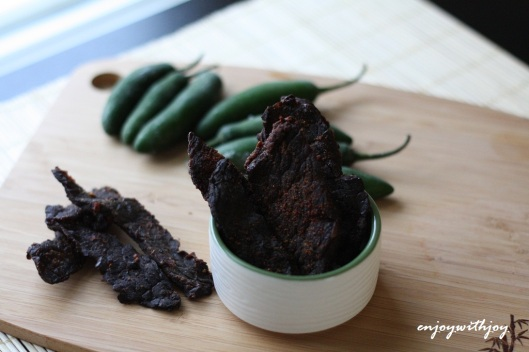 Spicy Beer Jerky