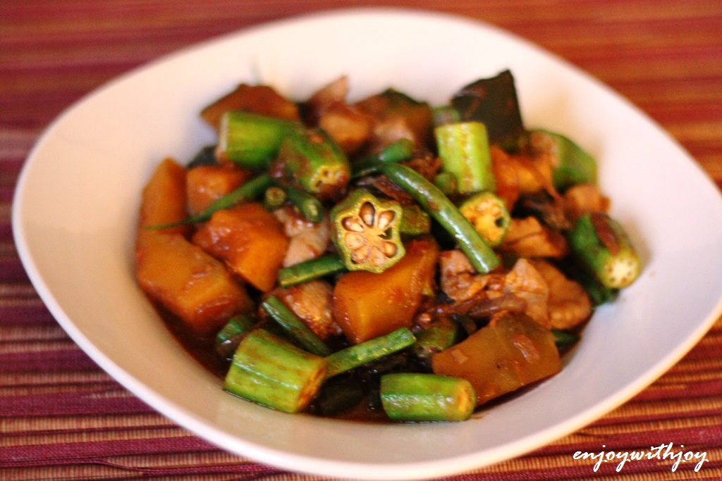 Top Chef Paul Qui's Pakbet (Pinakbet, Filipino Vegetable Stew