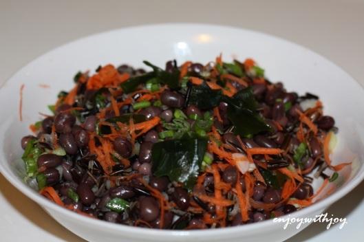 Zesty Adzuki Bean and Wild Rice Salad