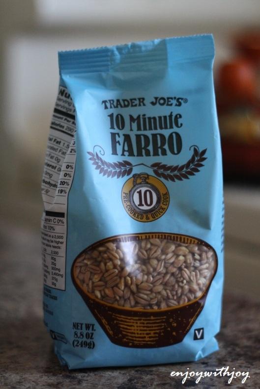 TJ's 10 Minute Farro