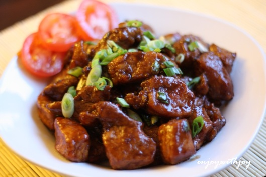 Black Vinegar Pork