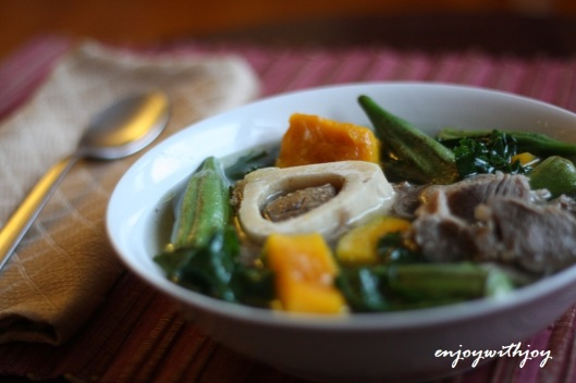 Bulalo (Beef Bone Marrow and Vegetable Soup)